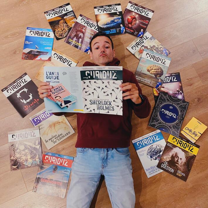 Fabien Olicard - Mentaliste | Les magazines