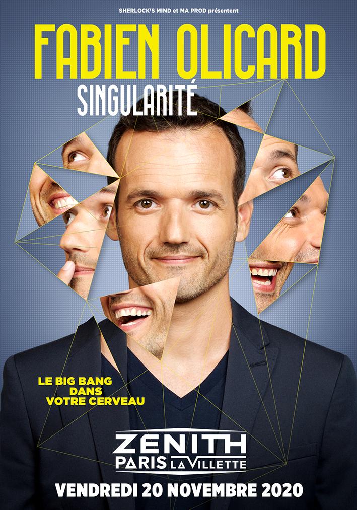 Fabien Olicard et sont spectacle Singularité
